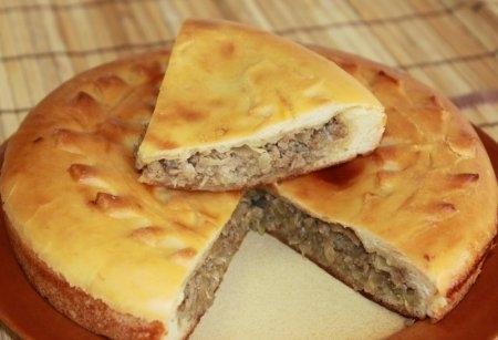 Рецепты кулебяки с капустой и мясом с фото