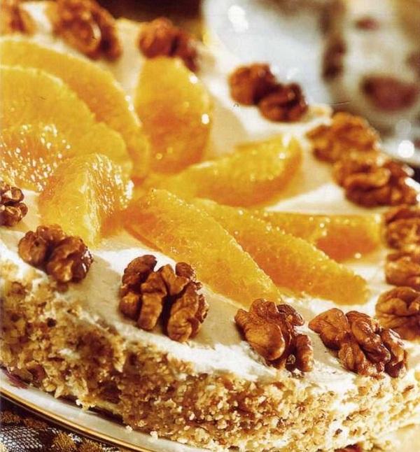 Торт с фундуком рецепт с фото