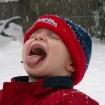 Съедобный снегопад