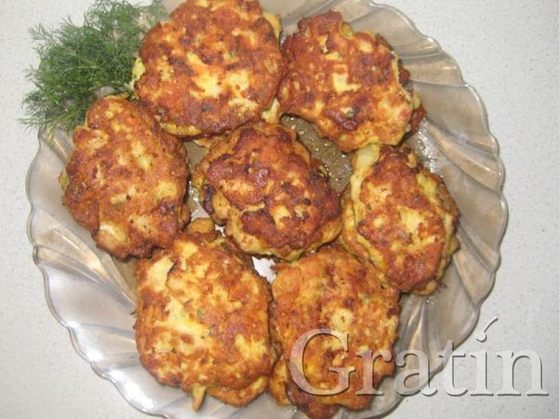 Рубленые куриные котлеты с зеленью и сыром рецепт