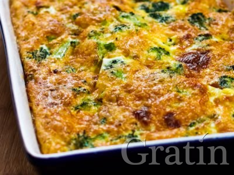 Рецепт запеканки с брокколи