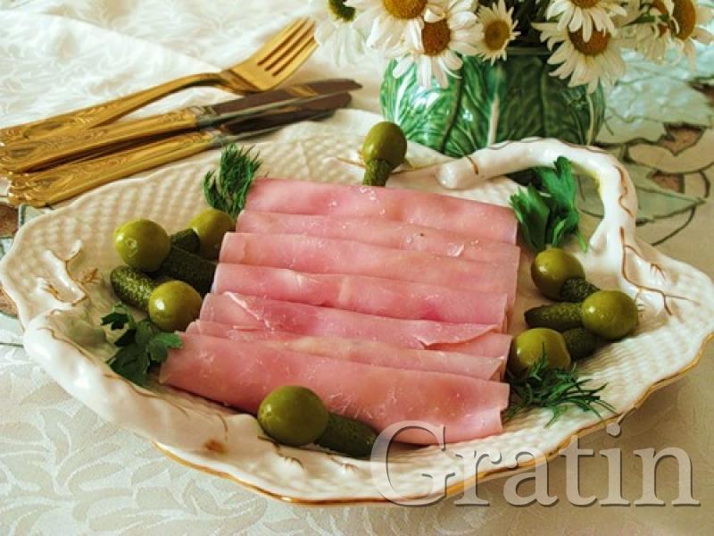 Ветчинные рулетики с сыром пошаговый фото рецепт