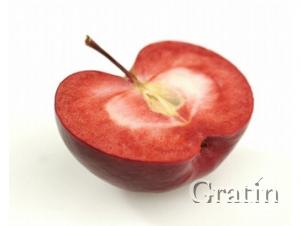 Новый сорт яблок – с красной мякотью