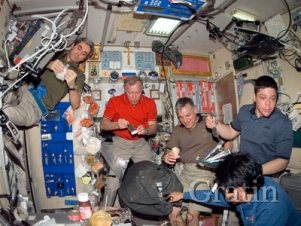 Что нового в меню для космонавтов?