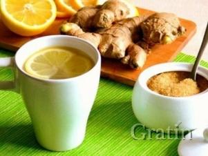 Пей чай с имбирём и худей