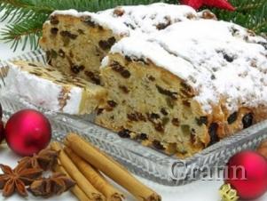 Рождественский  кекс для целого города