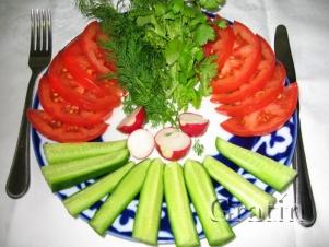 Начинай приём пищи со здоровых продуктов!