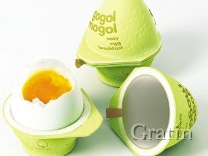 Упаковка, которая умеет варить яйца всмятку