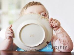 Не давайте детям больших тарелок!