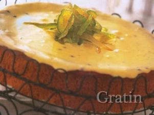 Лаймовый пирог с кремом