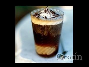 Десерт «Полосатое чудо»