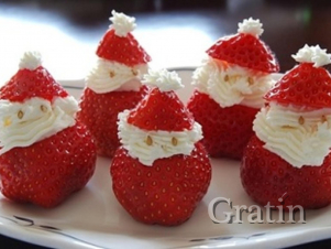 Клубничные Санта-Клаусы