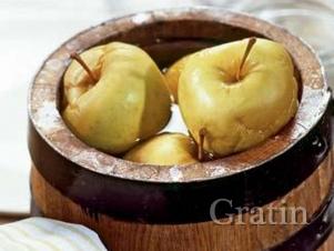 Мочёные яблоки по-старосветски