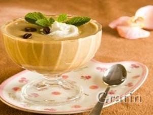 Йогуртовое мороженое с хурмой
