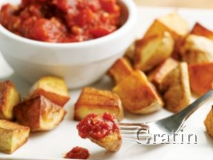 Картофель по-мексикански в остром томатном соусе