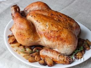 Цыплёнок, фаршированный по-трансильвански