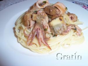 Спагетти «Море и Лес»