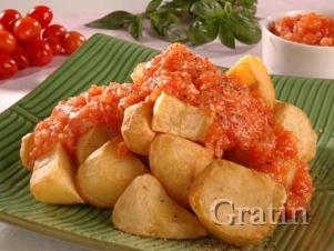 Бодрая картошка по-каталонски (вариант Patatas Bravas)