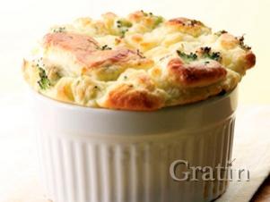 Суфле из сыра и брокколи