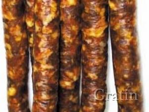 Копчёная колбаса по-итальянски