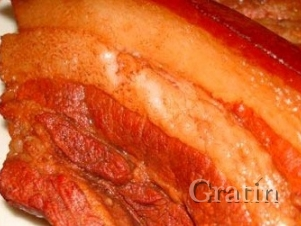 Сало в луковой шелухе