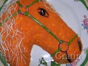 Салат «Год лошади»
