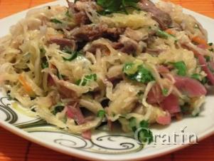 Салат по-коми-пермяцки