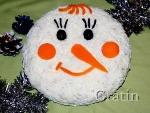 Салат «Снеговик»