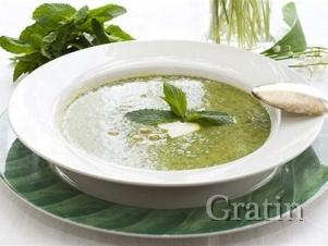Мятно-укропный суп