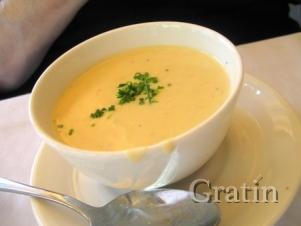 Крабовый крем-суп с брокколи и цветной капустой
