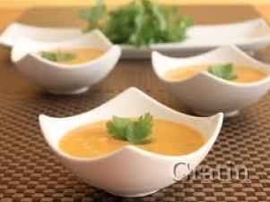 Морковный суп-крем с индейкой