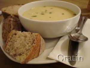 Орехово-грибной суп-пюре по-валлийски