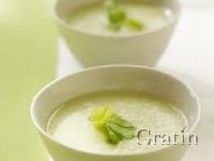 Пряный куриный крем-суп с сельдереем