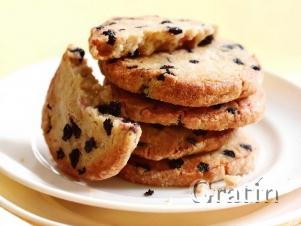 Печенье с вяленой черникой