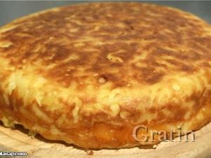 Картофельный пирог с брюквой