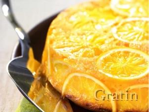 Ароматный пирог с апельсинами