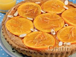 Мазурек с апельсинами (польский пасхальный пирог)