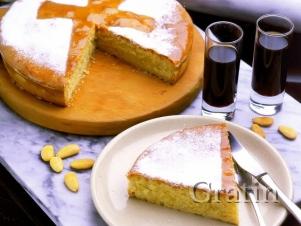 Пирог «Tarta de Santiago»
