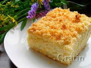 Творожный пирог «Услада»
