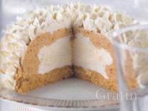 Торт-«бомба» с арахисовым маслом