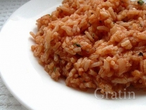 Томатно-рисовый гарнир