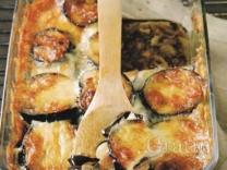 Овощной «пирог» с грибами