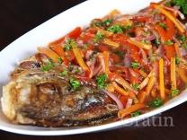 Рыба в ямайском маринаде