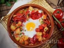 Яйца «Фламенко» (Испания)