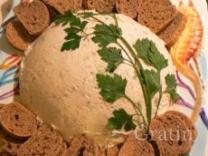 Крабовый мусс с сыром