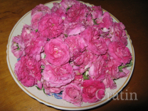 Наливка на чайной розе
