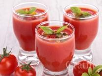Томатно-ягодный гаспачо