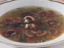Холодный суп с квашеной капустой