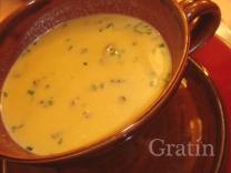 Чечевичный суп-пюре по-овернски
