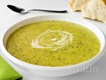 Крем-суп из цуккини с карри